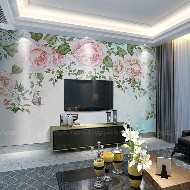 پوستر دیواری سه بعدی بوستان گل
