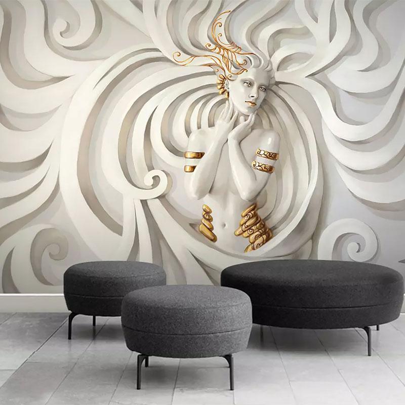 پوستر دیواری سه بعدی الهه نسیم