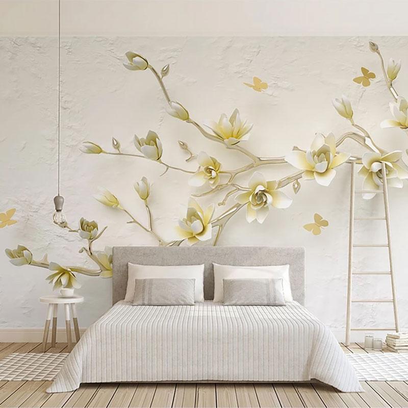 پوستر سه بعدی شاخه پر گل