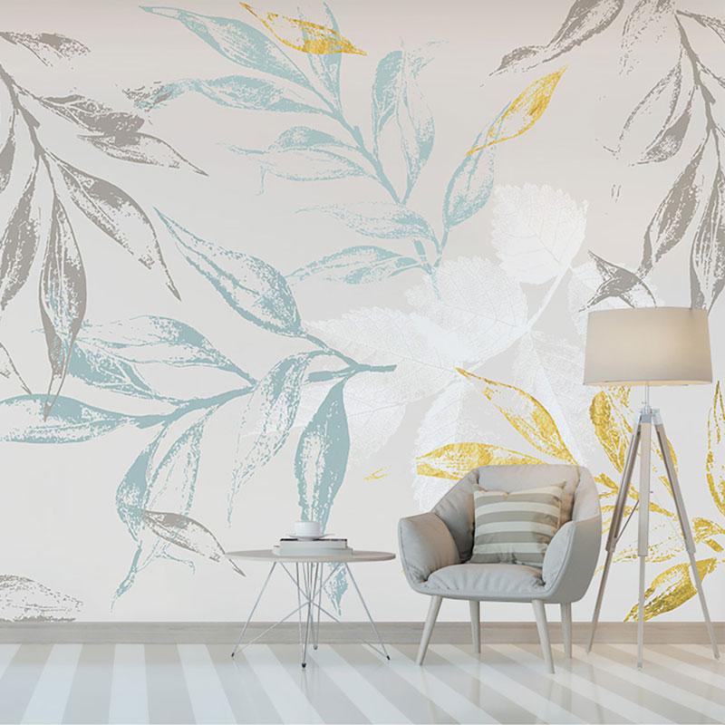 کاغذ دیواری کلاسیک شاخه های بی تاب