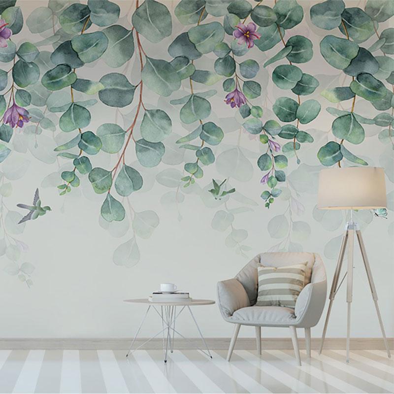 پوستر دیواری کلاسیک گل پتوس