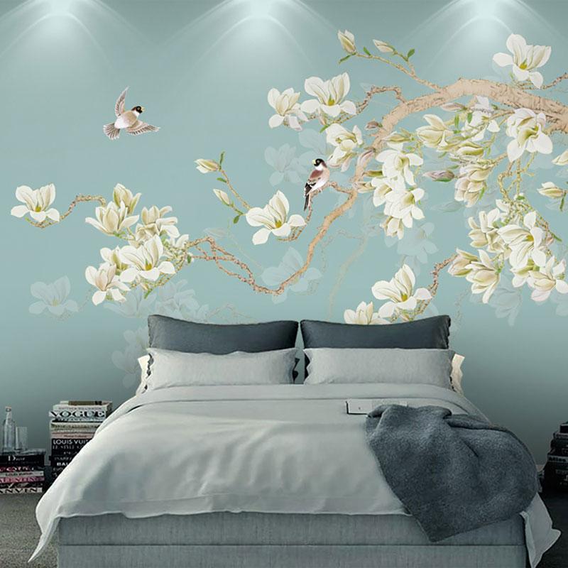 پوستر دیواری کلاسیک شکوفه های ژاپنی
