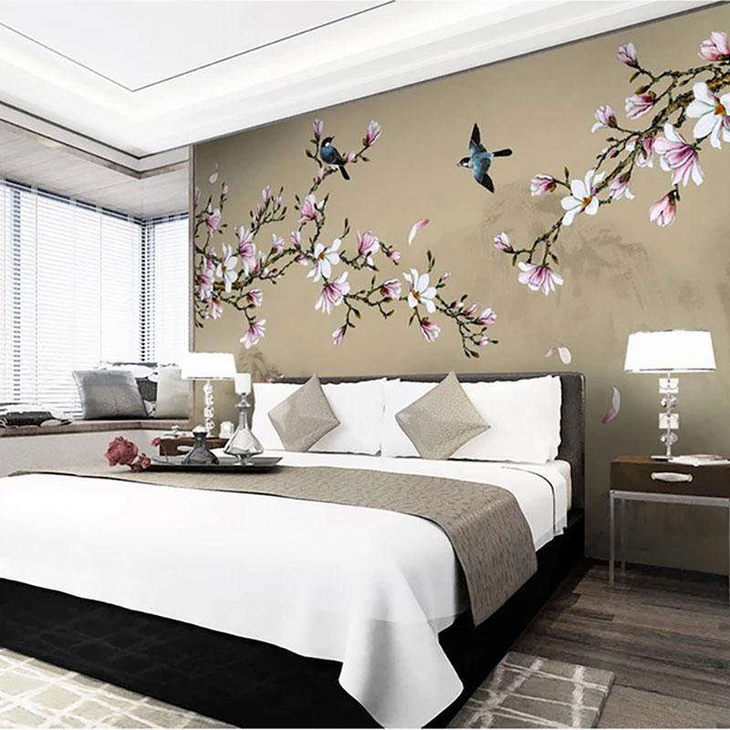 پوستر دیواری کلاسیک شکوفه های رقصنده