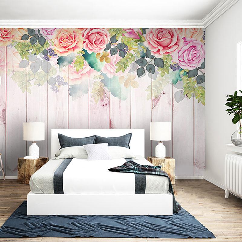 پوستر دیواری کلاسیک طرح گل های بهاری