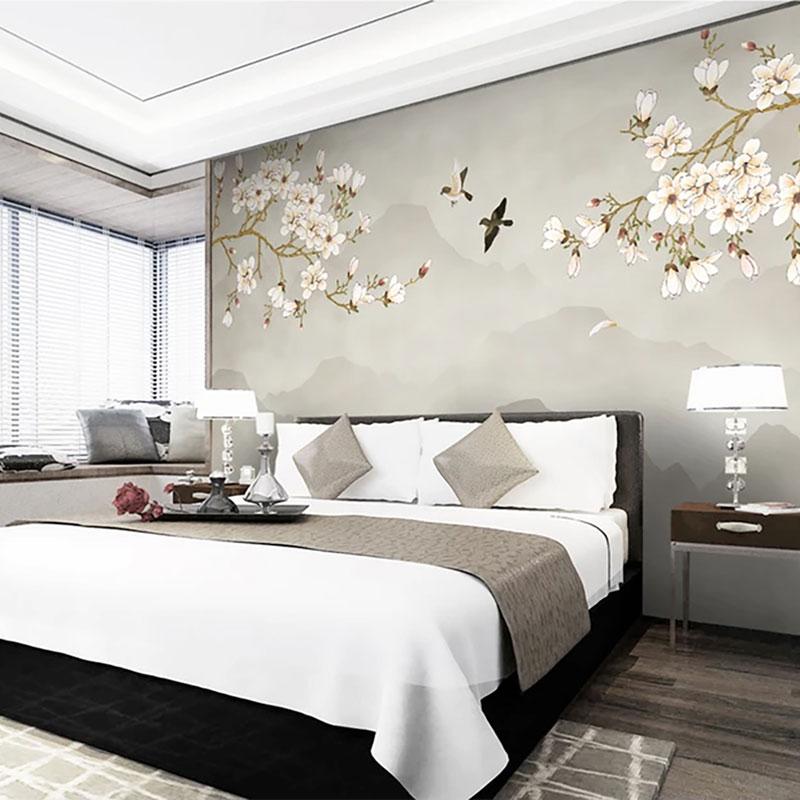 کاغذ دیواری کلاسیک سمفونی شکوفه ها